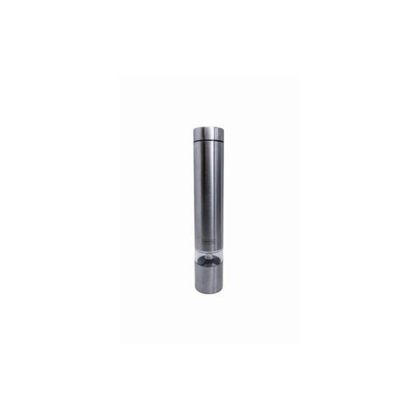Електрическа мелничка Vin Bouquet - Nerthus, с керамичен механизъм, сребриста