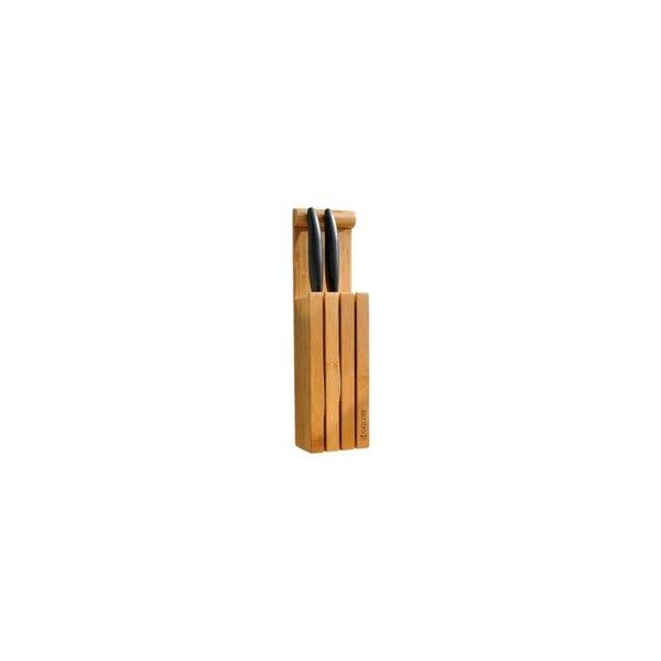"""Бамбуков блок """"Стойка"""" за ножове Kyocera"""