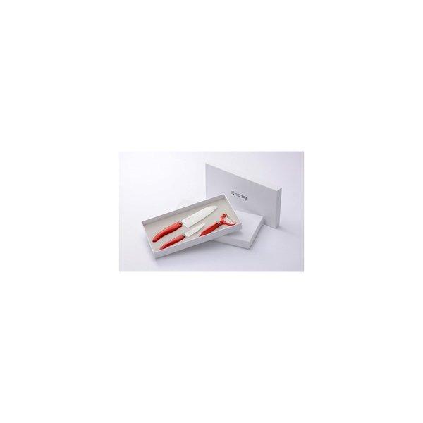 Комплект ножове Kyocera + белачка - в кутия