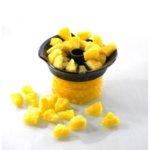 GEFU Метална резачка за ананаси с контейнер