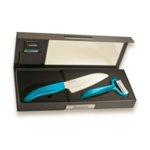 KYOCERA Комплект керамичен нож с белачка