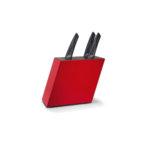 AUDI SPORT Блок за 6 ножа - червен цвят