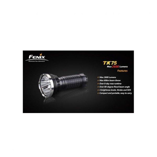 Фенер FENIX TK75-2600 лумена