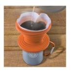 Сгъваем силиконов филтър за кафе