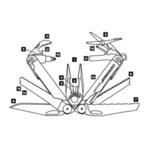 Многофункционален инструмент Leatherman Wave