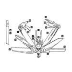 Многофункционален инструмент Leatherman Surge