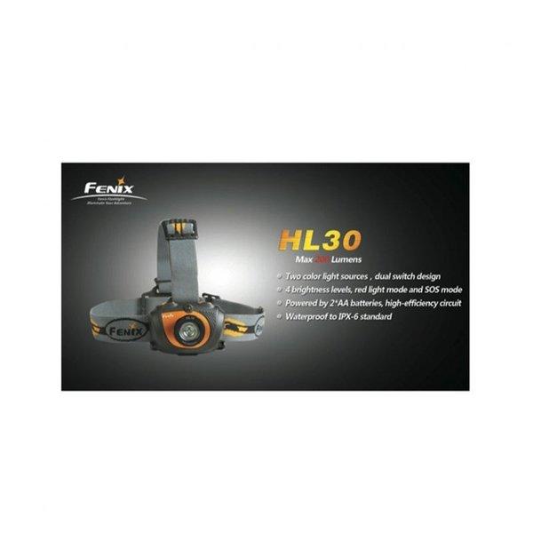 Фенер Fenix HL30-200 лумена