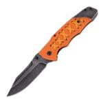 Сгъваем нож PUMA TEC one-hand knife, orange G10