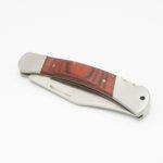 Сгъваем Нож Linder с острие 10.3 см. махагонова дръжка