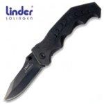 Джобен Сгъваем Нож Linder Black line 1 с заключващо острие