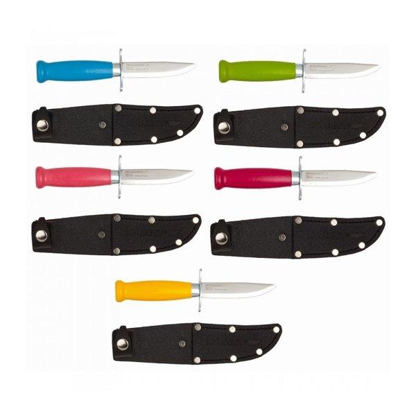 Нож Scout 39 Safe неръж/двоен предпазител ColorMix 85mm