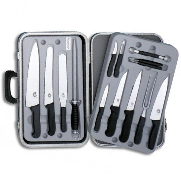 Комплект ножове Victorinox Small Chef's case