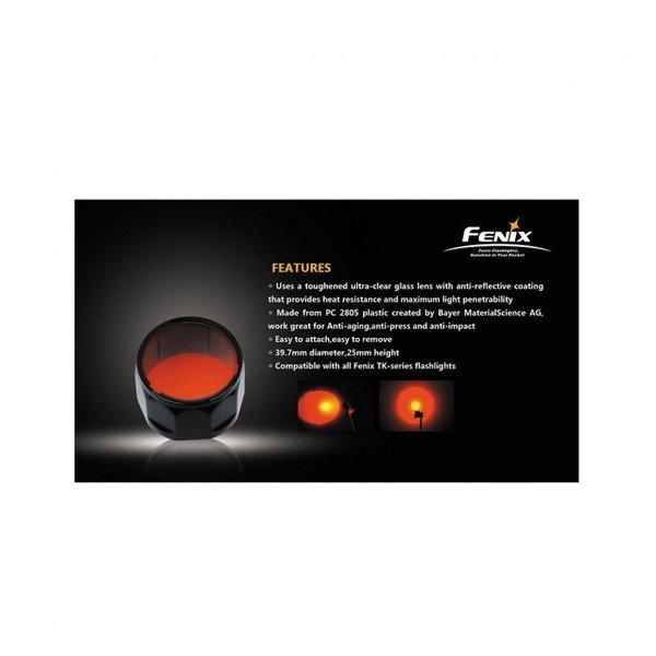 Червен филтър за закрепване на фенери Феникс TK-Серия
