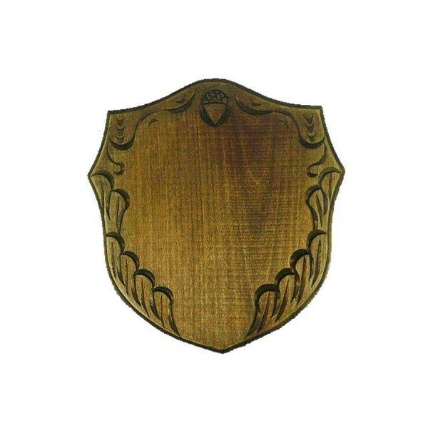 Дърворезбована дъска за трофей от глиган Ф22