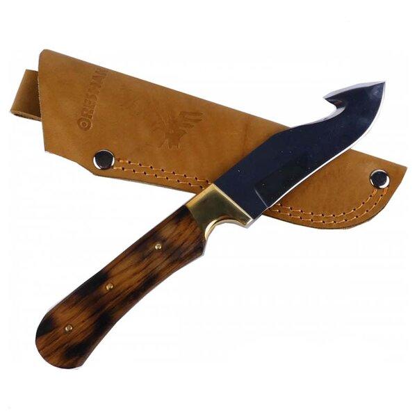 Ръчно изработен ловен нож с кука