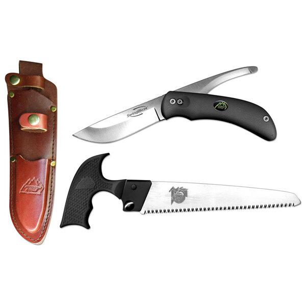 Kомплект сгъваем ловен нож и трион Outdoor Edge SwingBlade-Pak SP-1