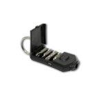 Джобен инструмент - ключодържател XDrive Pocket Driver 6 в 1 Swiss+Tech