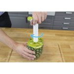 TOMORROW`S KITCHEN Резачка за ананаси с три ножа и приставка за кубчета