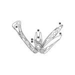 Многофункционален инструмент Leatherman Skeletool CX