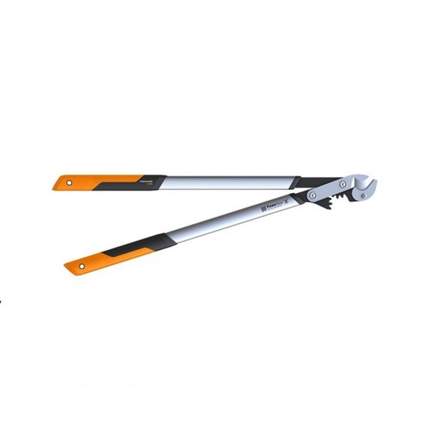 Овощарска ножица Fiskars PowerGearX™ със стоманен зъбчат механизъм и пресичащи се остриета L LX99