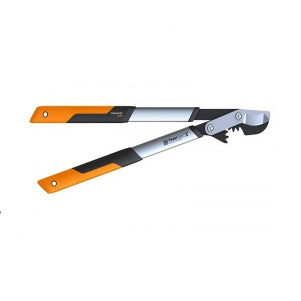 Овощарска ножица Fiskars PowerGearX™ със стоманен зъбчат механизъм и разминаващи се остриета L LX98