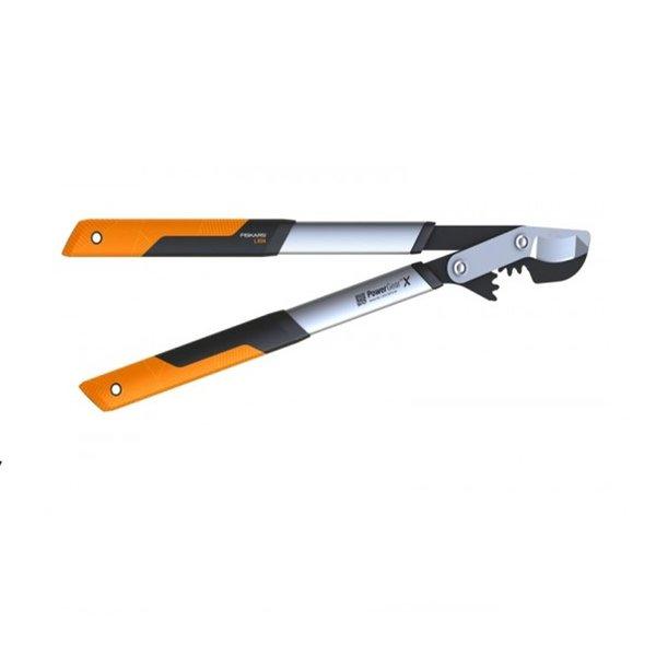 Овощарска ножица Fiskars PowerGearX™ със стоманен зъбчат механизъм и разминаващи се остриета M LX94
