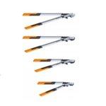 Овощарска ножица PowerGearX™ със стоманен зъбчат механизъм и разминаващи се остриета M LX94