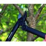 Градинска ножица за рязане на клони със зъбчат механизъм и с пресрещащи се остриета PowerGear™ L31