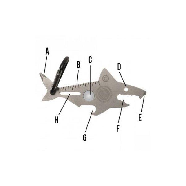 Мулти-функционален уред Акула