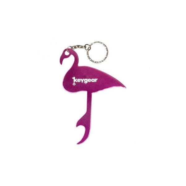 Ключодържател отварачка - фламинго