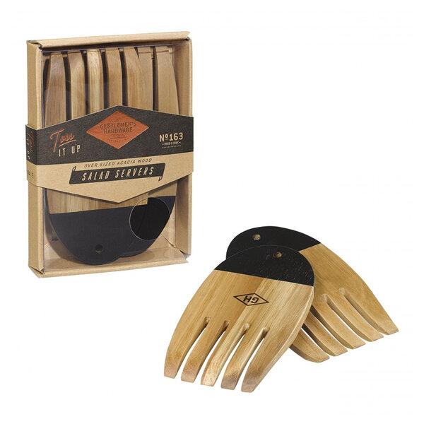 Комплект дървени прибори за салата Gentlemen's Hardware