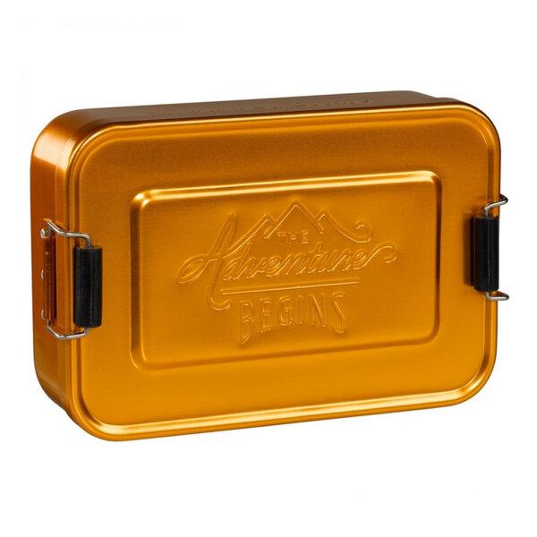 Алуминиева кутия за храна Gentlemans Hardware, златен цвят
