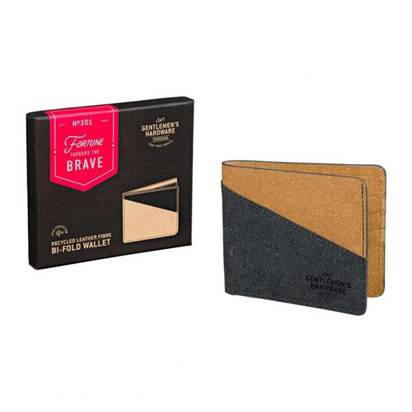 Сгъваем портфейл от рециклирана кожа Gentlemans Hardware