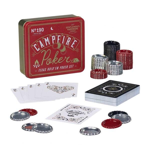 Покер комплект Gentlemans Hardware, в метална кутия