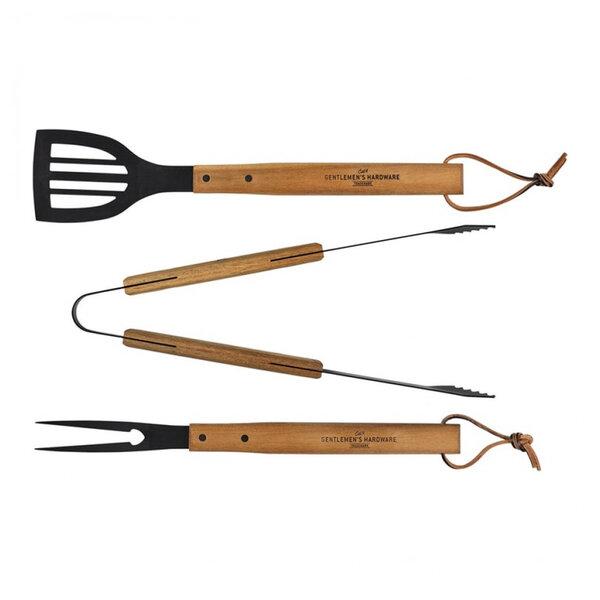 Комплект 3 инструмента за барбекю Gentlemans Hardware
