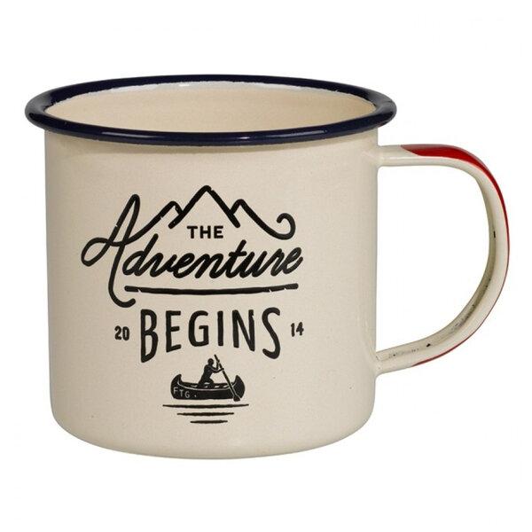 Емайлирано канче Gentlemans Hardware - The Adventure Begins