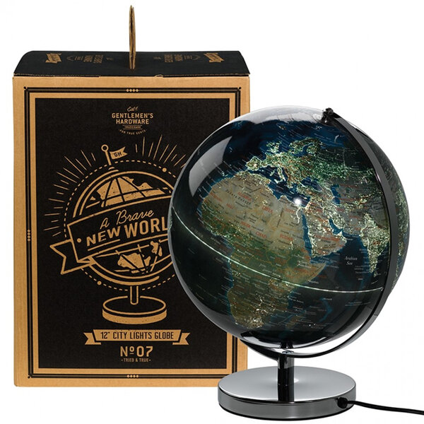 Класически светещ глобус Gentlemen's Hardware - City Lights