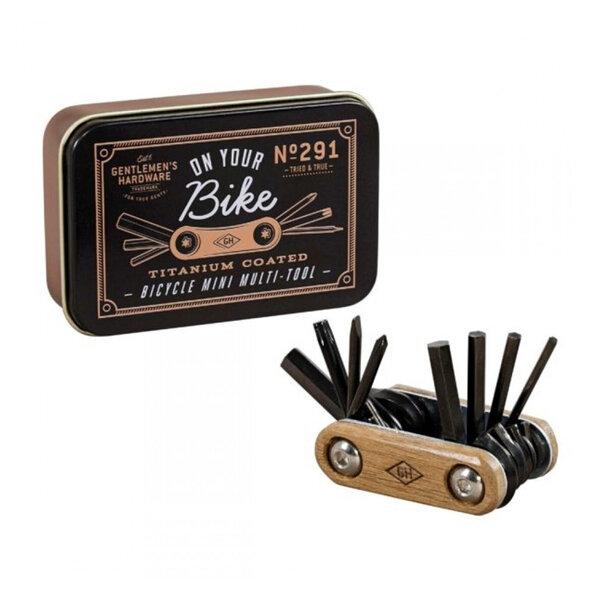 Малък дървен мулти-инструмент за колело Gentlemen's Hardware
