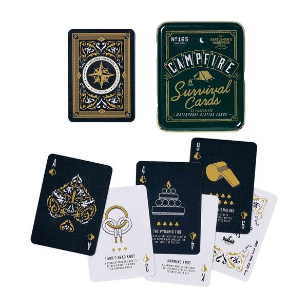 "Водоустойчиви карти за игра Gentlemen's Hardware - ""Оцеляване сред природата"""