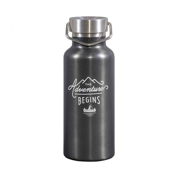 Бутилка за вода в тъмно сиво Gentlemen's Hardware