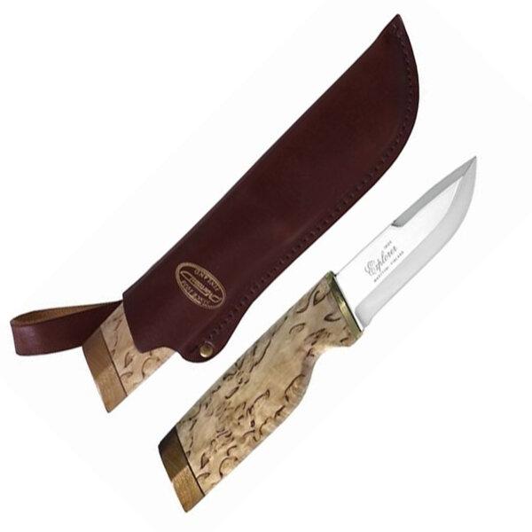 Нож Explorer Curly Birch large Marttiini, острие 9,5 см