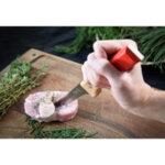 Нож за обезкостяване Opinel PARALLELE POP №122, червен