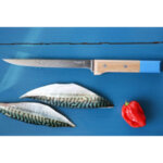 Нож за филетиране Opinel PARALLELE POP №121,син