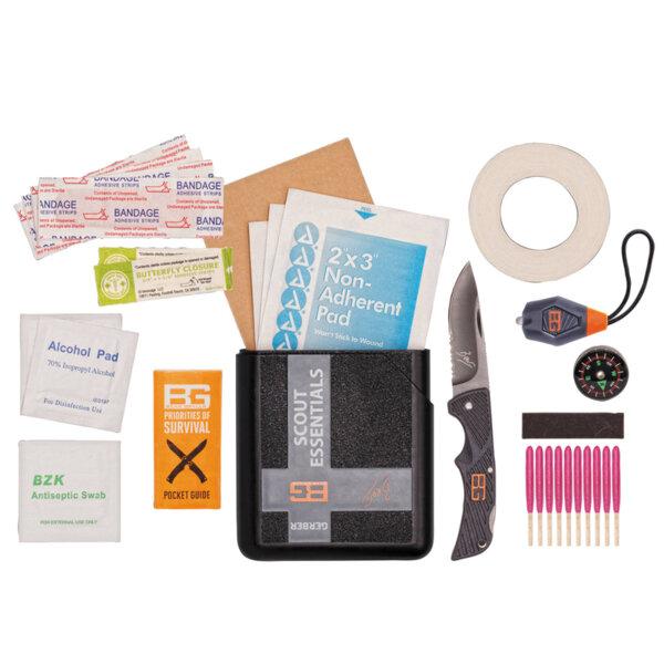 Комплект за оцеляване Scout Essentials Kit Bear Grylls