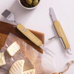 Мултифункционален инструмент за сирене и вино