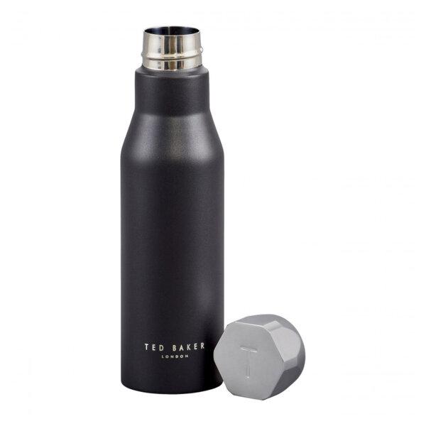 Термо бутилка Ted Baker, черен цвят