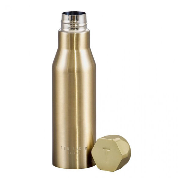 Термо бутилка Ted Baker, златист цвят