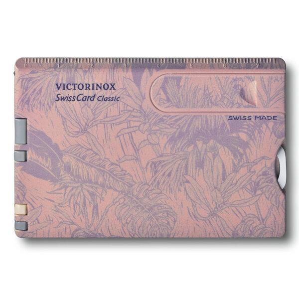 Швейцарски джобен нож Victorinox Swiscard Classic Spring Spirit