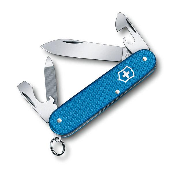 Швейцарски джобен нож Victorinox Cadet, Alox LE2020 Aqua Blue