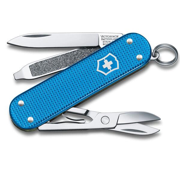 Швейцарски джобен нож Victorinox Classic Alox LE2020 Aqua Blue